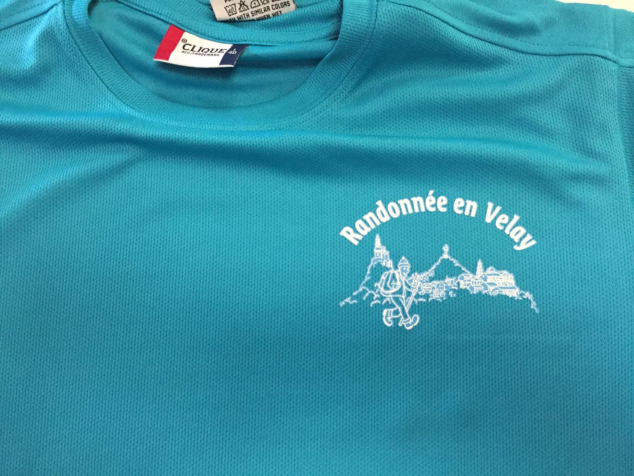 T-shirt Randonnée en Velay
