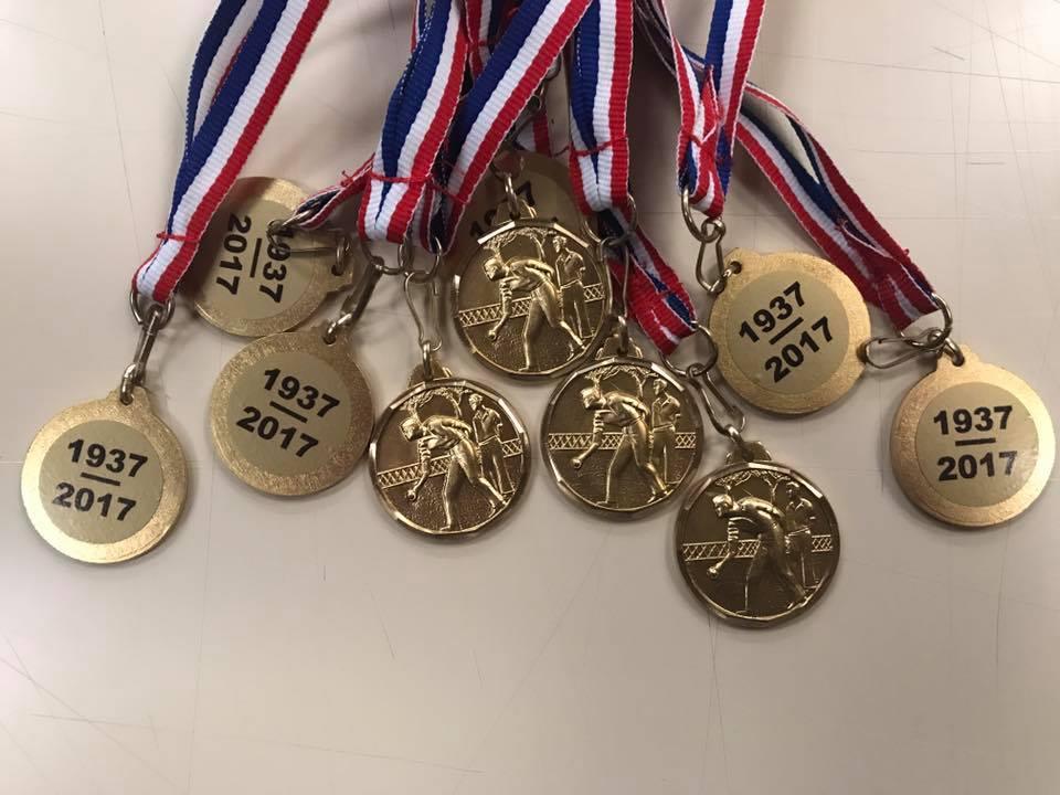 Trophées, médailles personnalisables